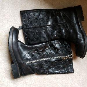 Coach Valentine boots